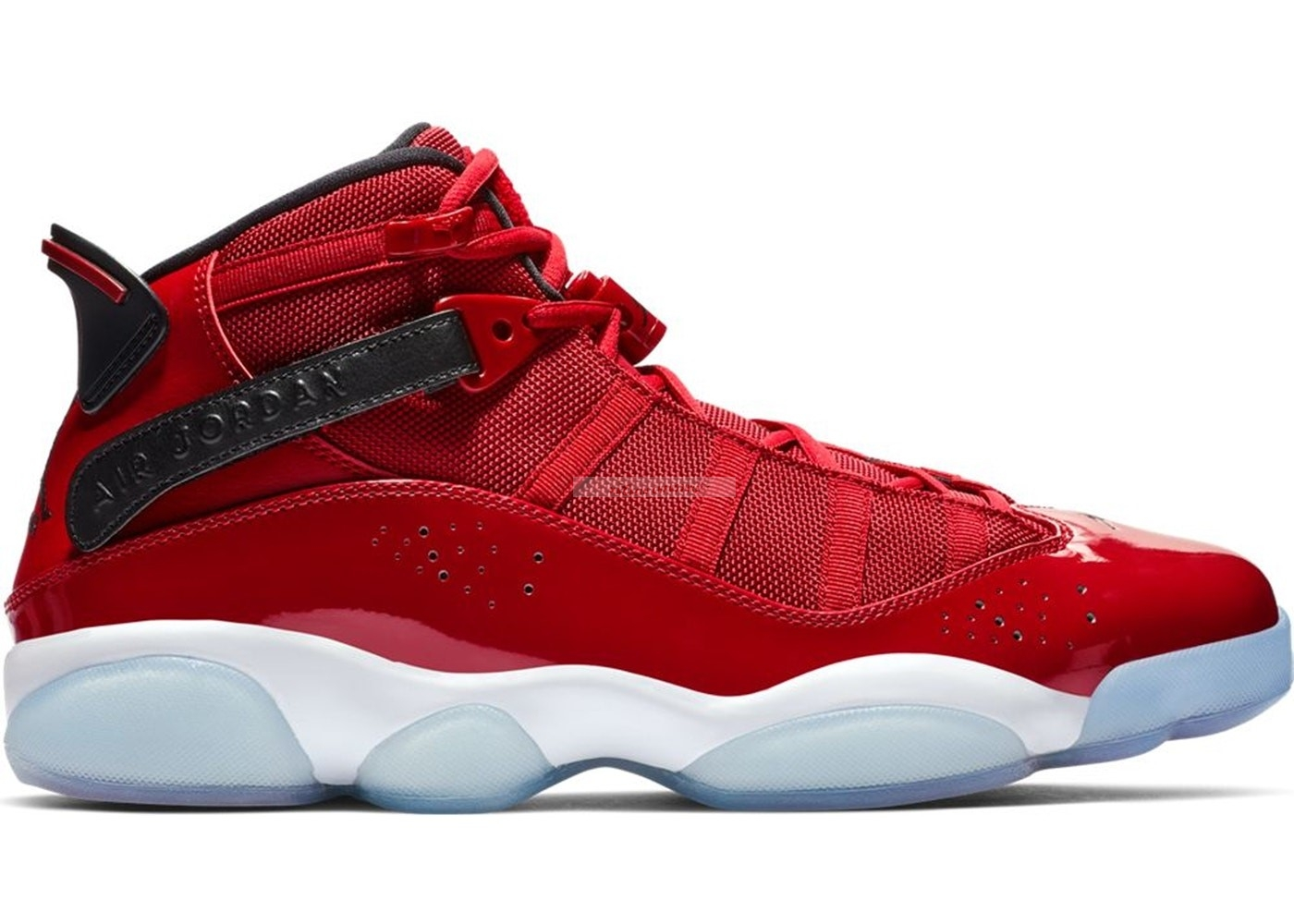 Air Jordan 6 Rings Rouge (322992-601) Chaussure de Basket