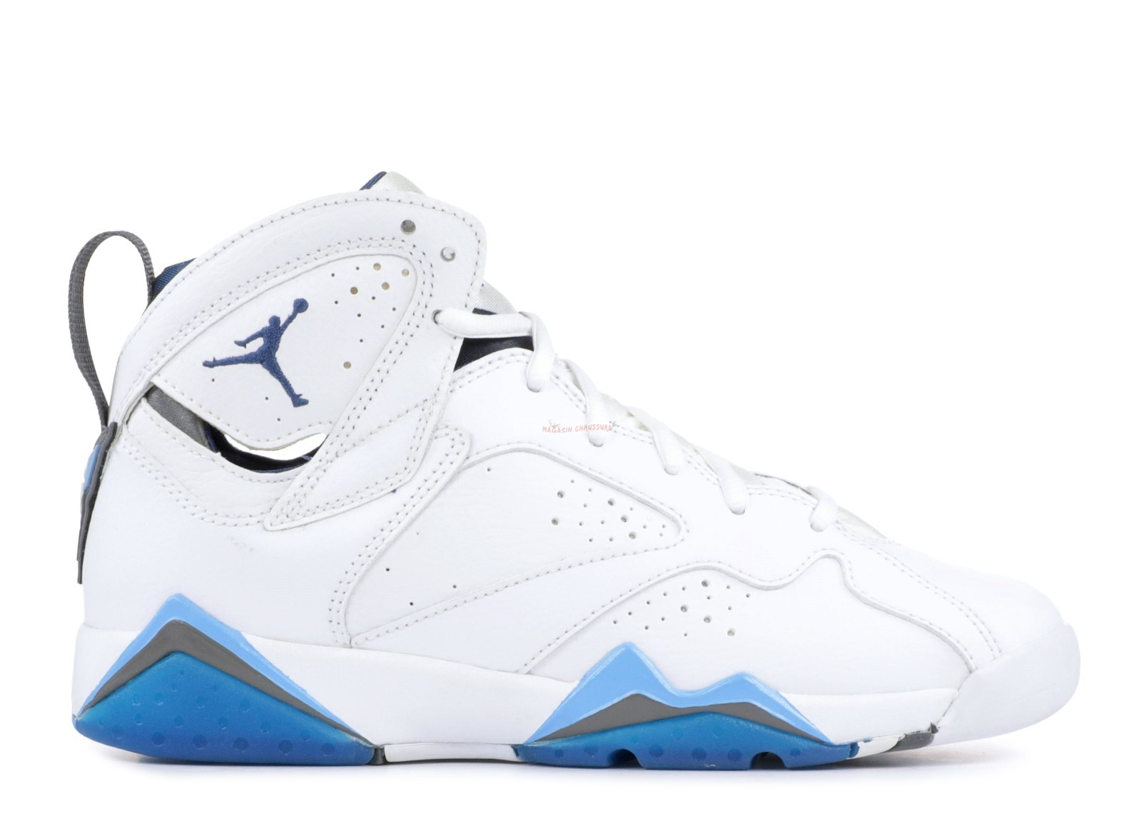 "Air Jordan 7 (Gs) ""French Blue"" Blanc Bleu (304774-107) Chaussure de Basket"