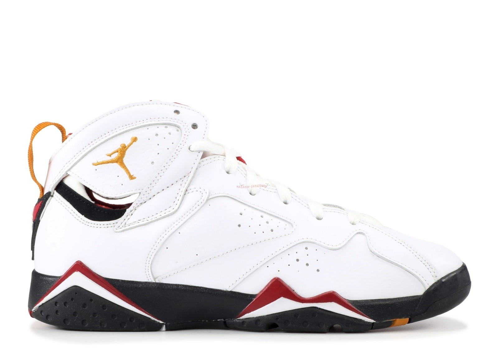 "Air Jordan 7 Retro (Gs) ""Cardinal"" Blanc (304774-104) Chaussure de Basket"