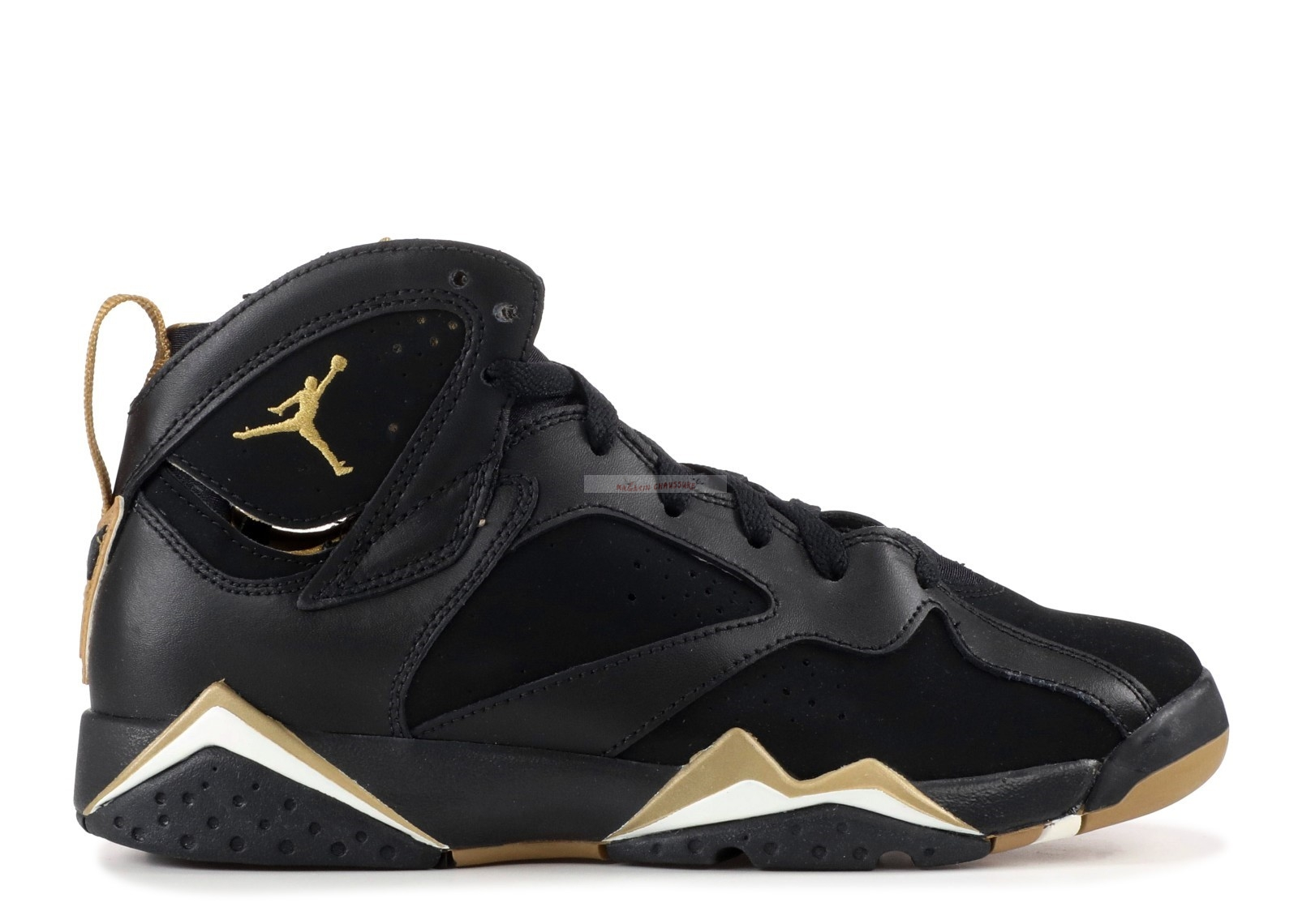 "Air Jordan 7 Retro (Gs) ""Golden Moment"" Noir Or (304774-030) Chaussure de Basket"