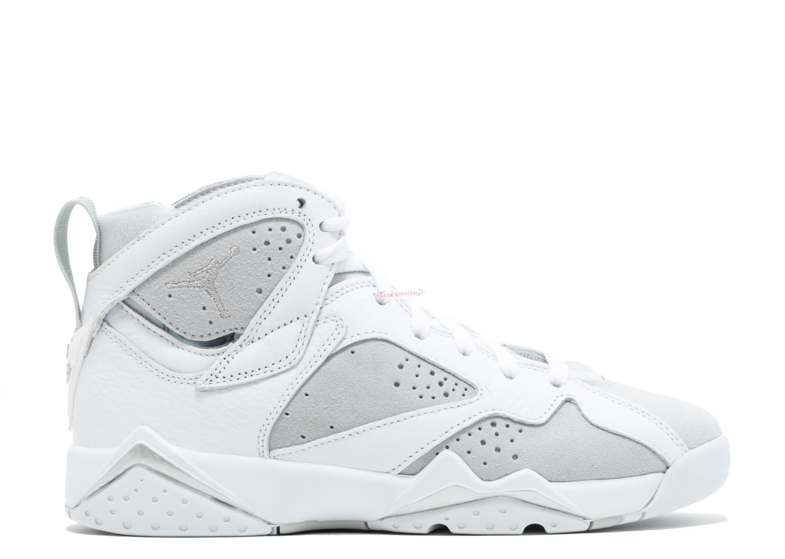 "Air Jordan 7 Retro (Gs) ""Pure Money"" Blanc (304774-120) Chaussure de Basket"