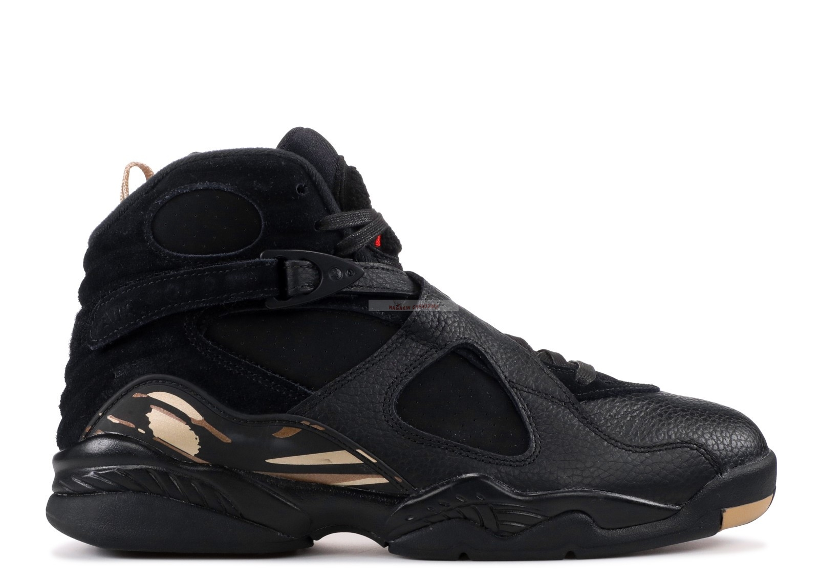 "Air Jordan 8 Retro Ovo ""Ovo"" Noir Or (aa1239-045) Chaussure de Basket"