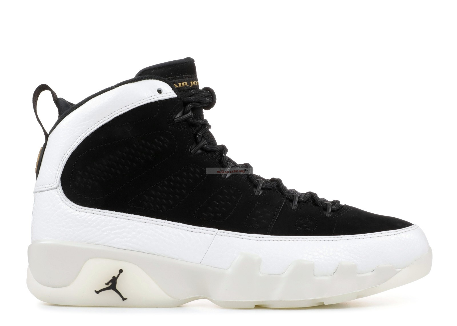 "Air Jordan 9 Retro ""City Of Flight"" Noir Blanc (302370-021) Chaussure de Basket"