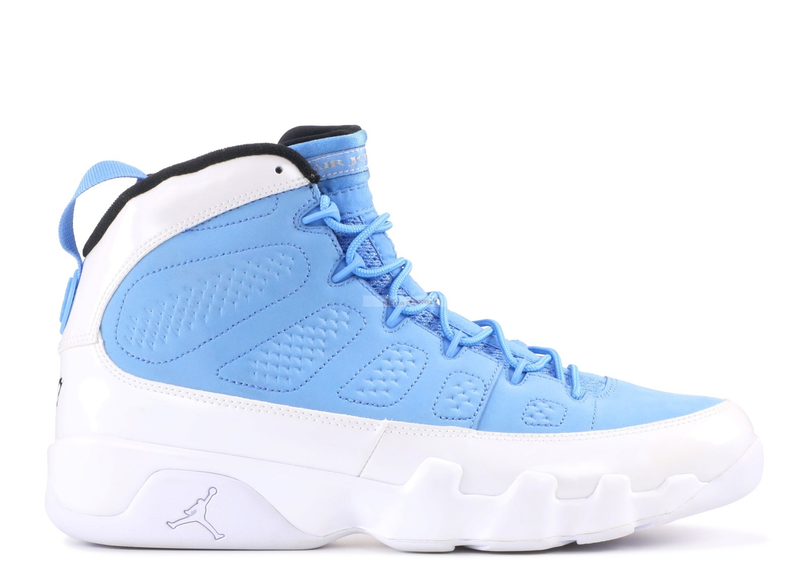 "Air Jordan 9 Retro ""For The Love Of The Game"" Bleu Blanc Noir (302370-401) Chaussure de Basket"
