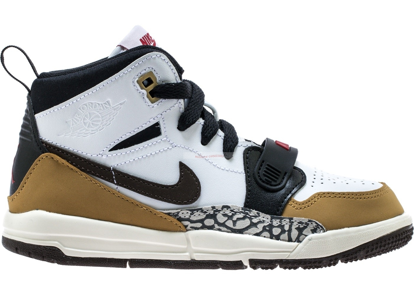 "Air Jordan Legacy 312 ""Rookie Of The Year"" Ps Blanc Marron (at4047-102) Chaussure de Basket"