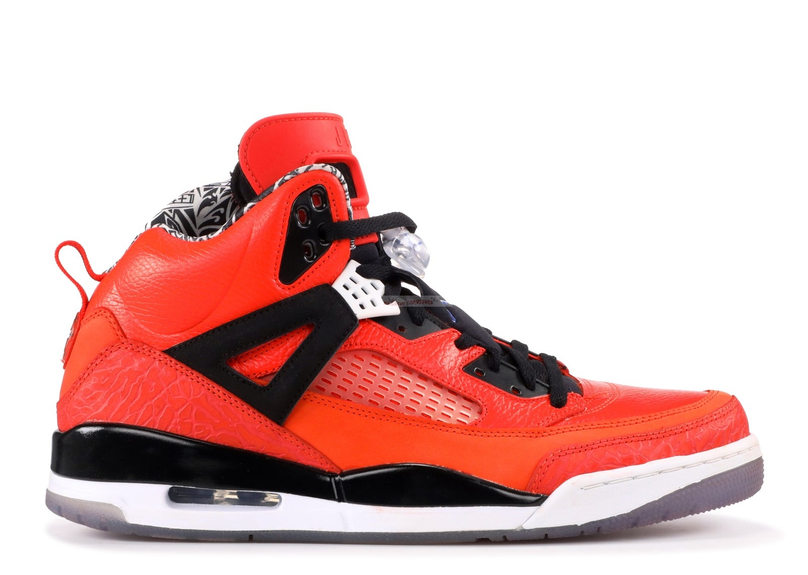 "Air Jordan Spiz'Ike ""New York Knicks"" Rouge Noir (315371-805) Chaussure de Basket"