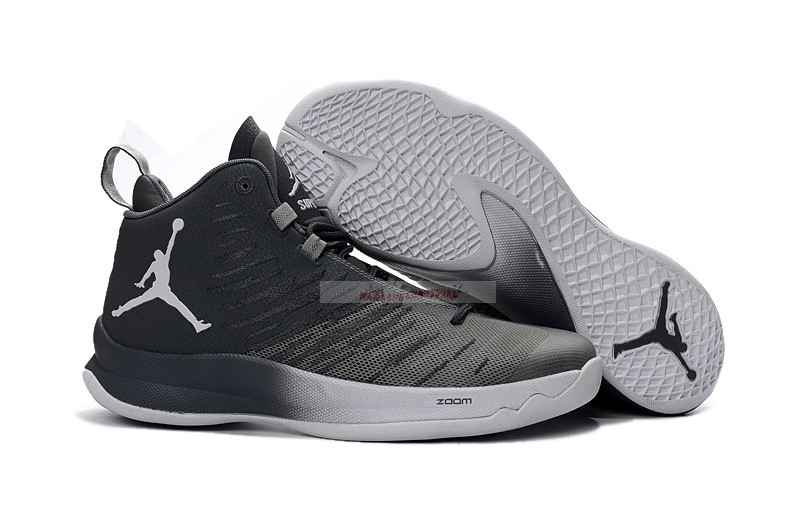"Air Jordan Super.Fly 5 ""Blake Griffin"" Gris Noir Chaussure de Basket"