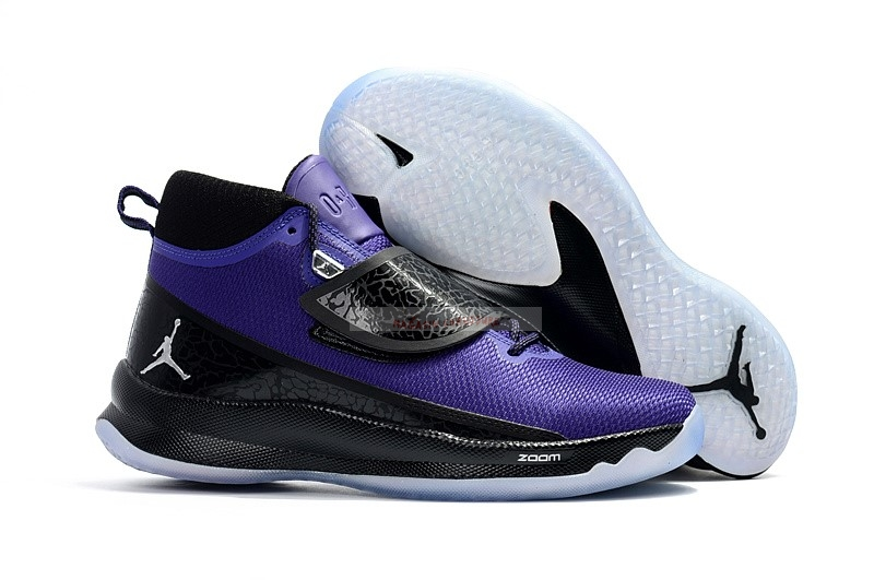 "Air Jordan Super.Fly 5 Po ""Blake Griffin"" Pourpre Noir Chaussure de Basket"