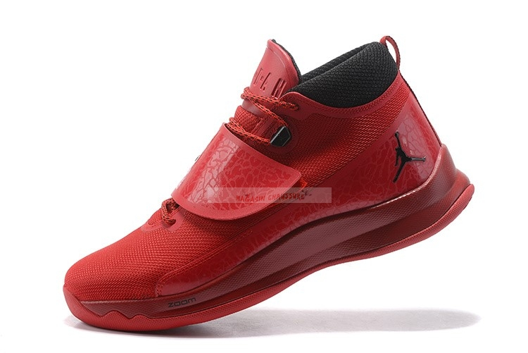 Air Jordan Super.Fly 5 Po Rouge Chaussure de Basket