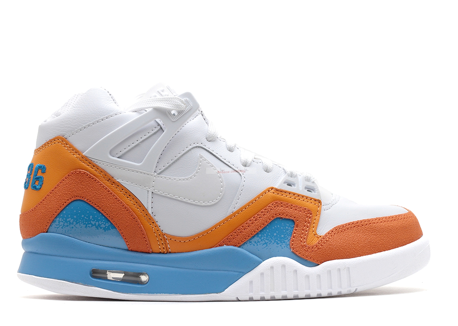 "Air Tech Challenge 2 Sp ""Australian Open"" Blanc Bleu Orange Chaussure de Basket"