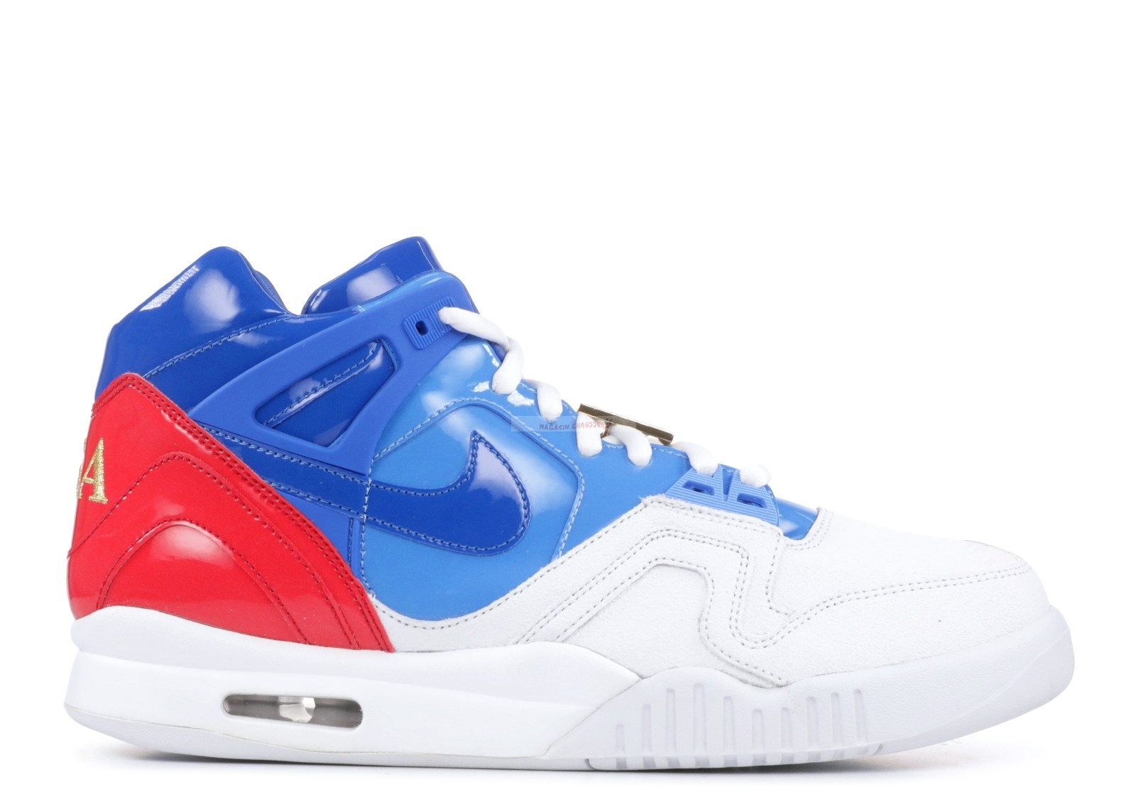 "Air Tech Challenge 2 Sp ""Us Open"" Blanc Rouge Bleu Chaussure de Basket"