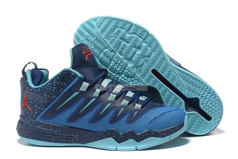 "Jordan Cp3 Ix 9 ""Alternate Away"" Bleu Noir Chaussure de Basket"