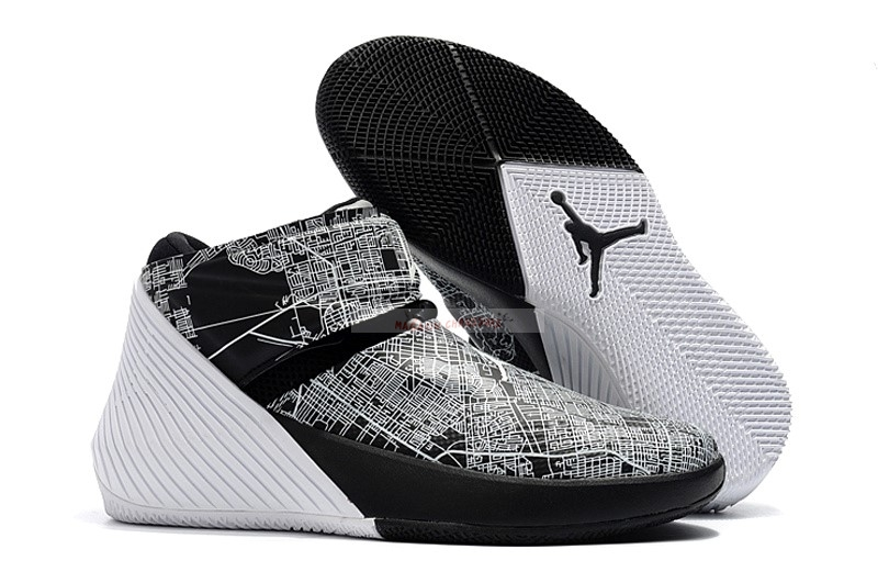 "Jordan Why Not Zer0.1 ""All Star"" Noir Blanc Chaussure de Basket"