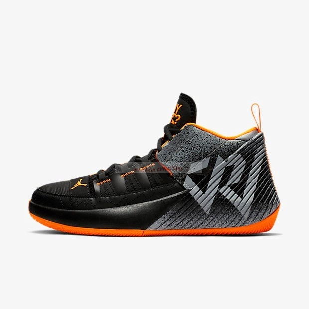 Jordan Why Not Zer0.1 Chaos Pf Noir Orange (bv5499-008) Chaussure de Basket