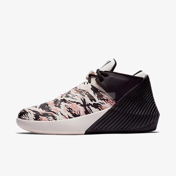 Jordan Why Not Zer0.1 Low Pfx Camo Noir Rouge (ar0346-003) Chaussure de Basket