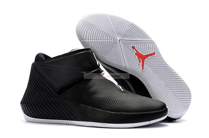 Jordan Why Not Zer0.1 Noir Rouge Blanc Chaussure de Basket