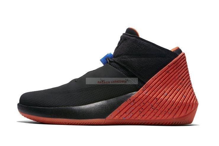"Jordan Why Not Zer0.1 ""Triple Double"" Noir Rouge Bleu Chaussure de Basket"