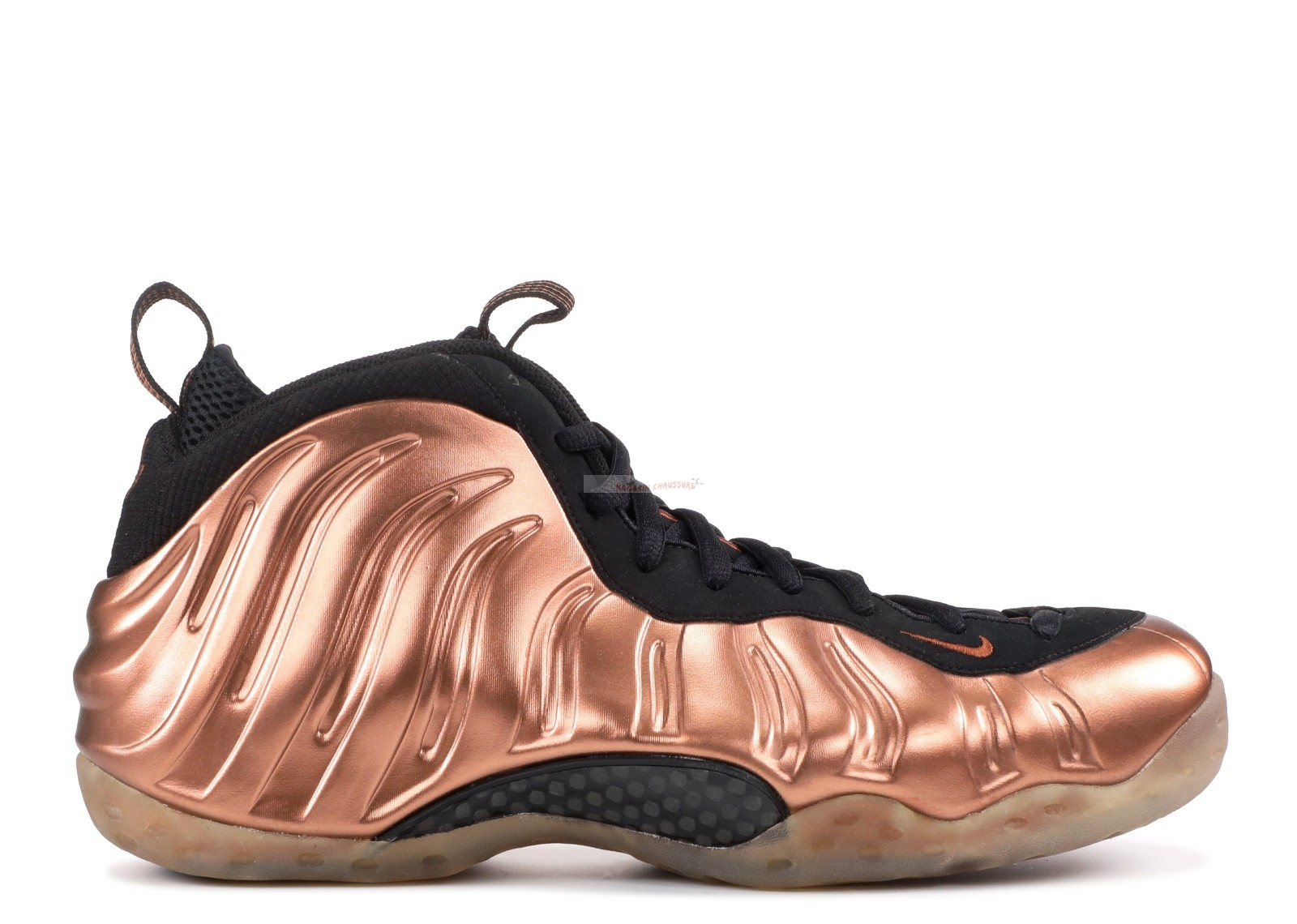 "Nike Air Foamposite One ""Dirty Copper"" Noir Or (314996-081) Chaussure de Basket"