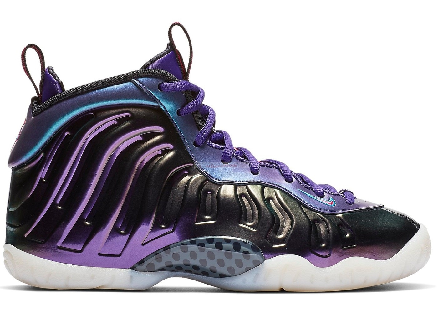 "Nike Air Foamposite One (Gs) ""Iridescent Pourpre"" Pourpre (644791-602) Chaussure de Basket"