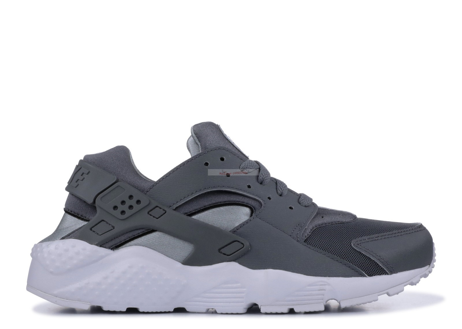 Nike Air Huarache Run Gs Gris (654275-012) Chaussure de Basket