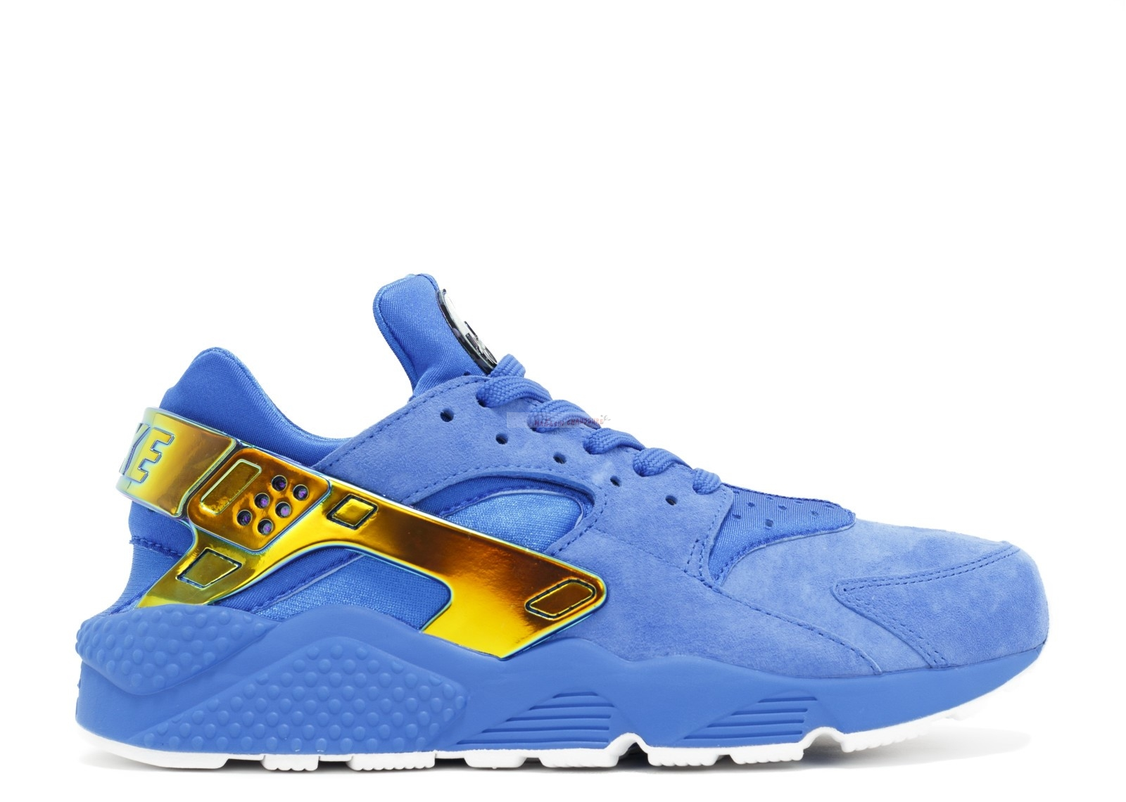 "Nike Air Huarache Run Prm Qs ""Undefeated"" Bleu (853940-114) Chaussure de Basket"