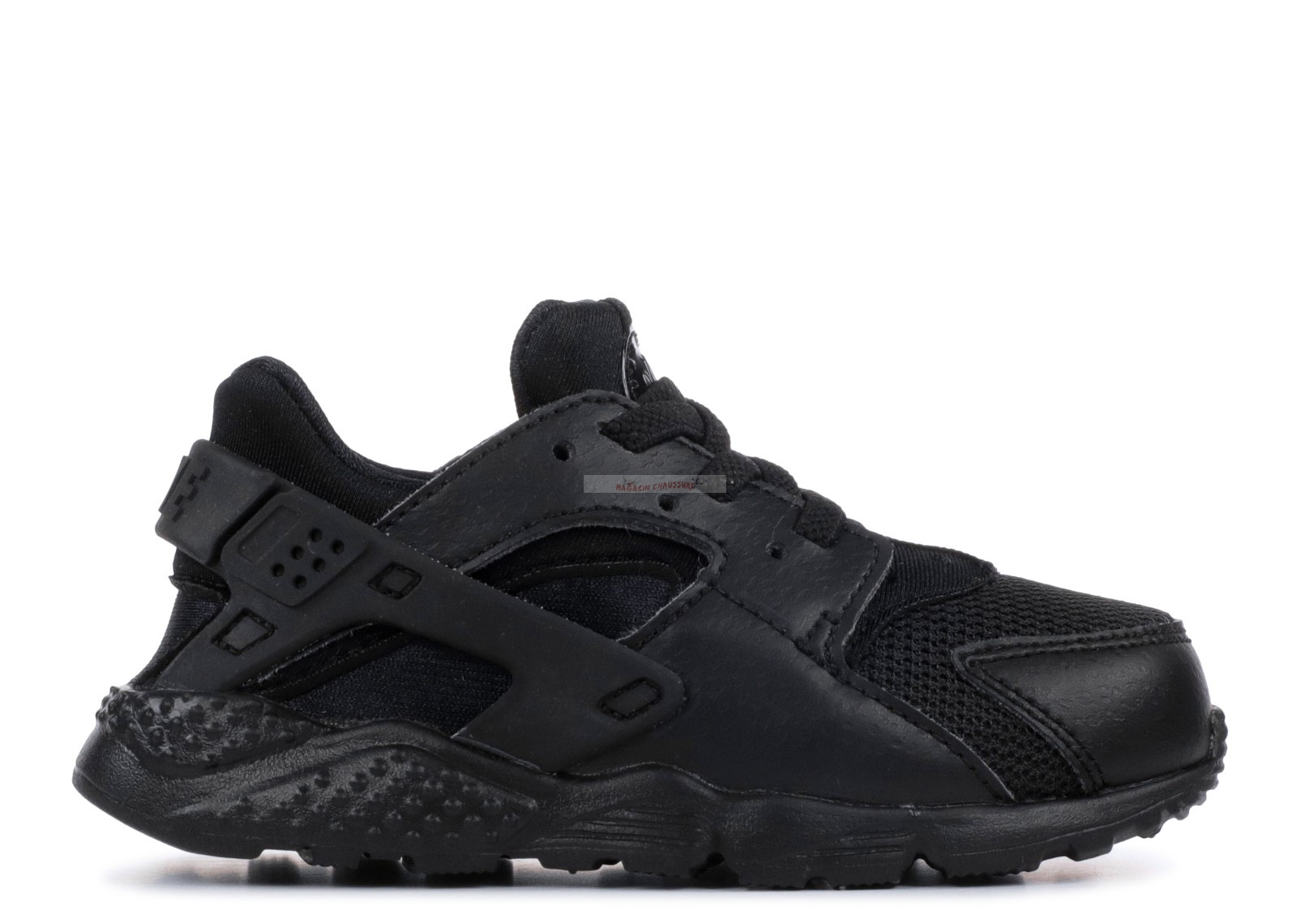 "Nike Air Huarache Run (Ps) ""Triple Noir"" Noir (704950-016) Chaussure de Basket"