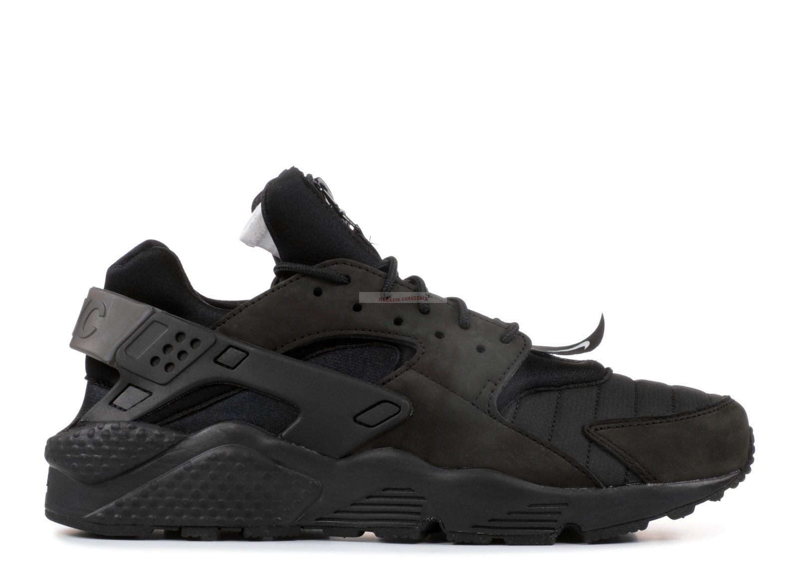 "Nike Air Huarache Run Qs ""Nyc"" Noir (aj5578-001) Chaussure de Basket"