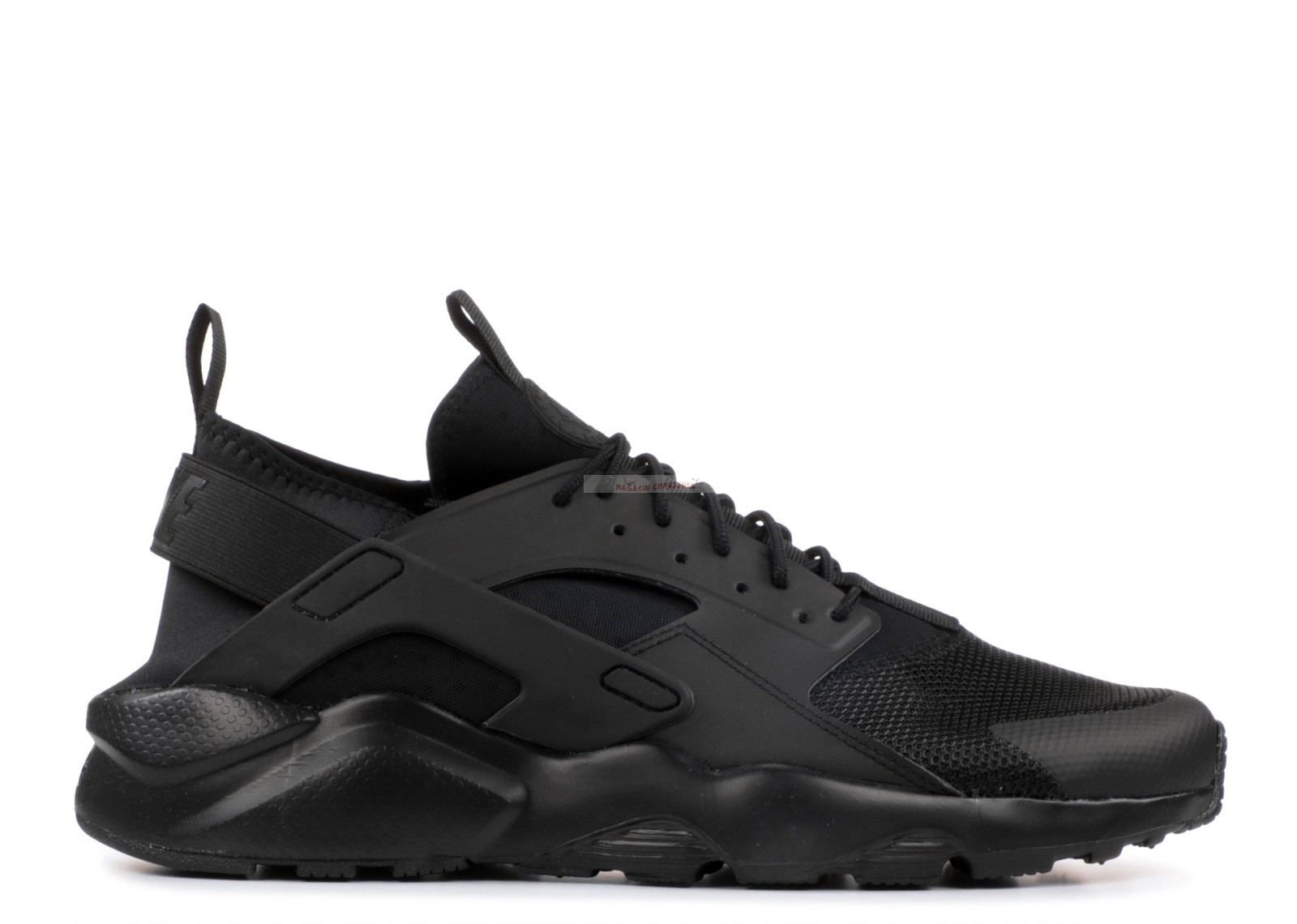 "Nike Air Huarache Run Ultra ""Triple Noir"" Noir (819685-002) Chaussure de Basket"