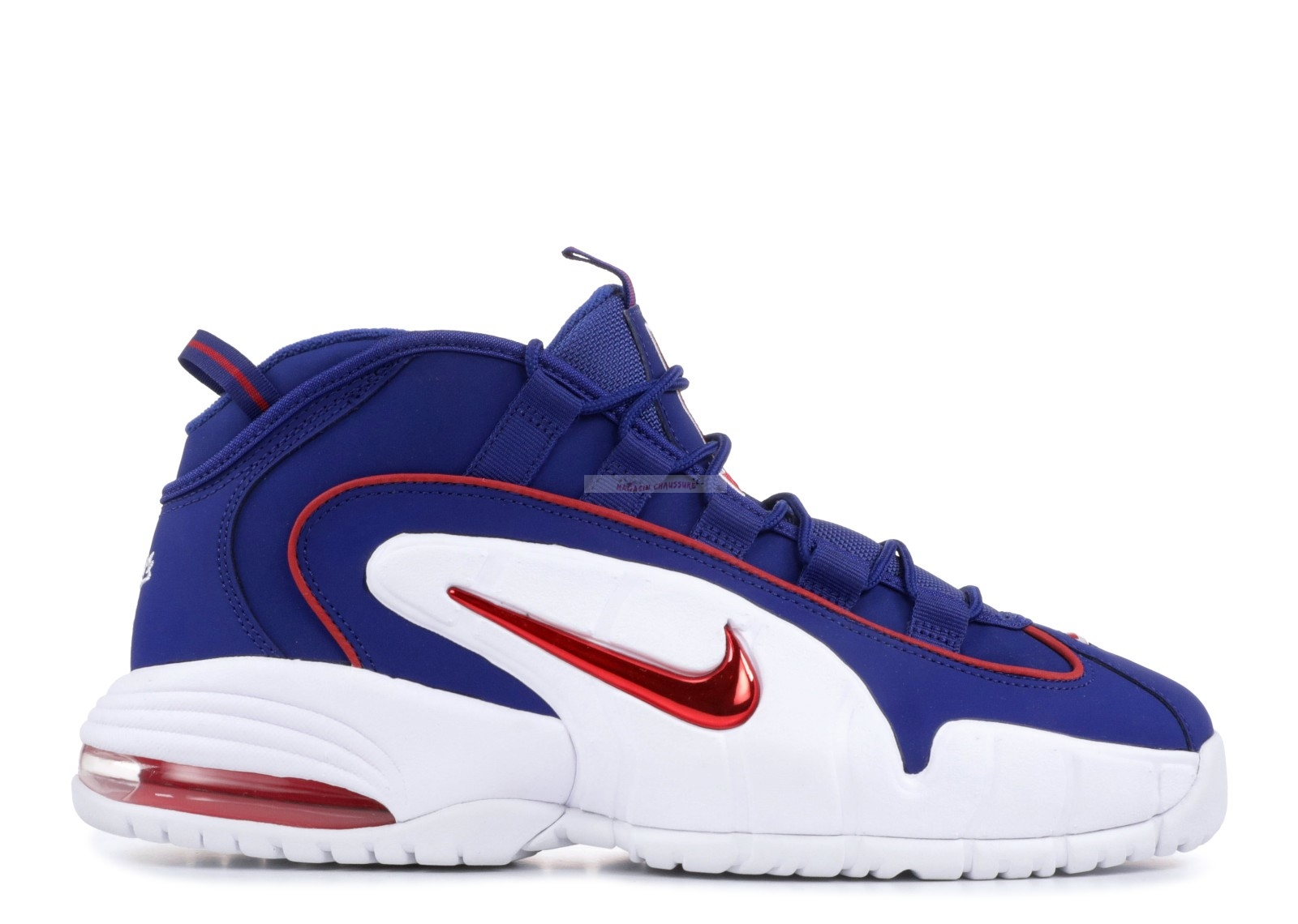 "Nike Air Max Penny ""Lil Penny"" Bleu Rouge Blanc (685153-400) Chaussure de Basket"