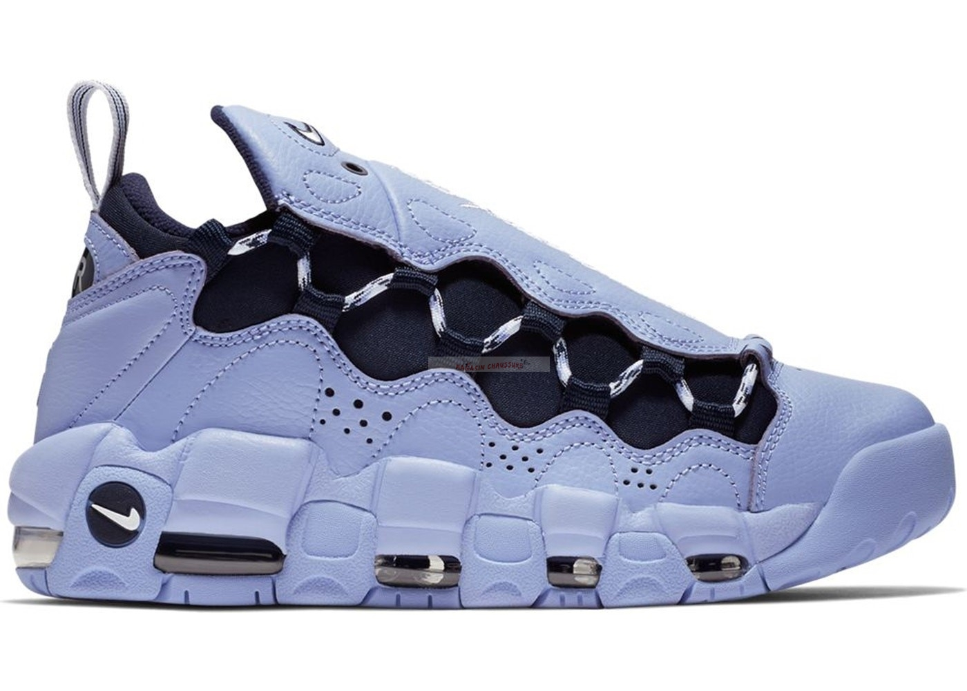 "Nike Air More Money - Femme ""This Game Is Mine"" Blanc Noir (ao1749-400) Chaussure de Basket"