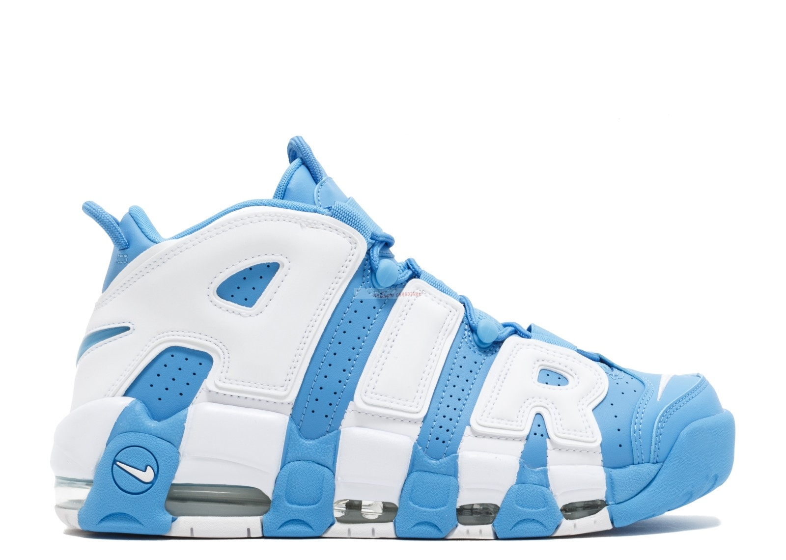 "Nike Air More Uptempo '96 ""Unc"" Bleu Blanc (921948-401) Chaussure de Basket"
