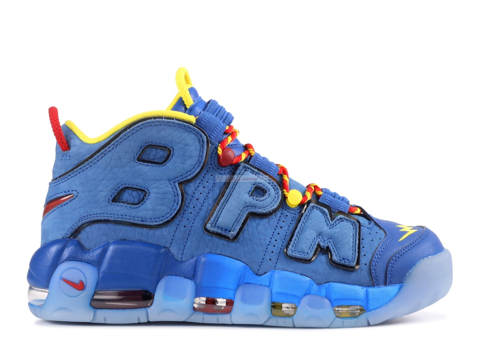 "Nike Air More Uptempo Db ""Doernbecher"" Bleu (ah6949-446) Chaussure de Basket"