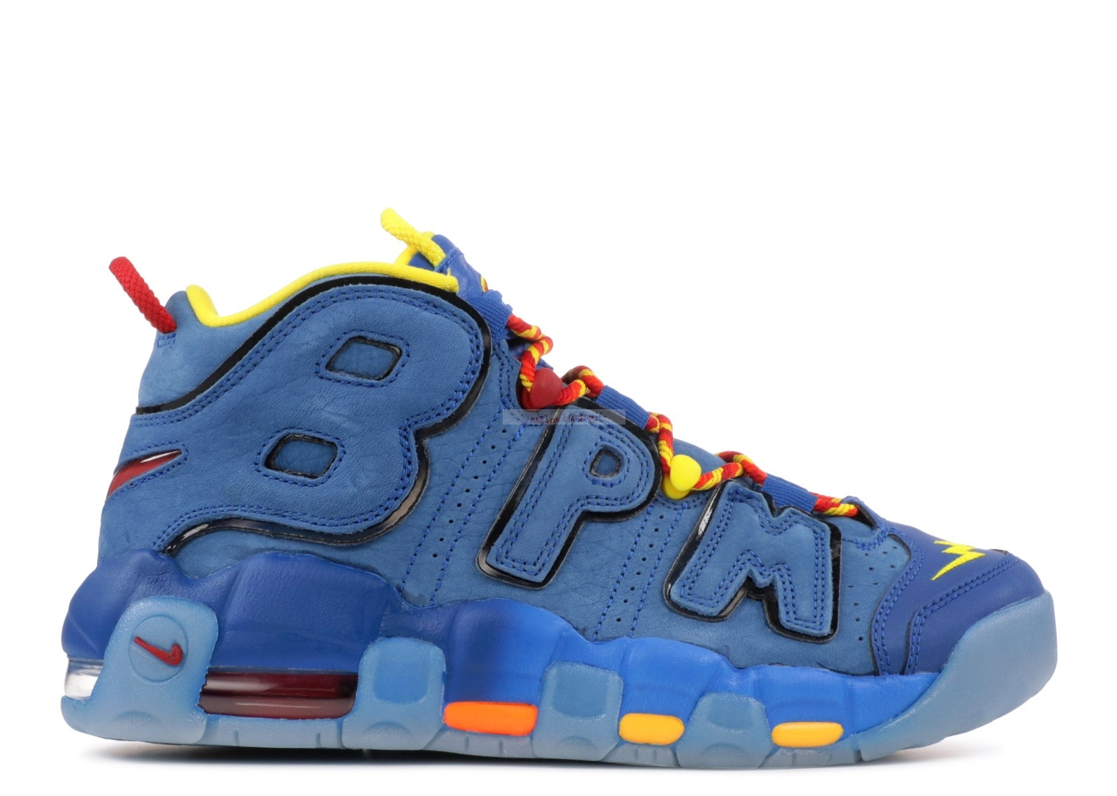 "Nike Air More Uptempo Db (Gs) ""Doernbecher"" Bleu (ah6963-446) Chaussure de Basket"