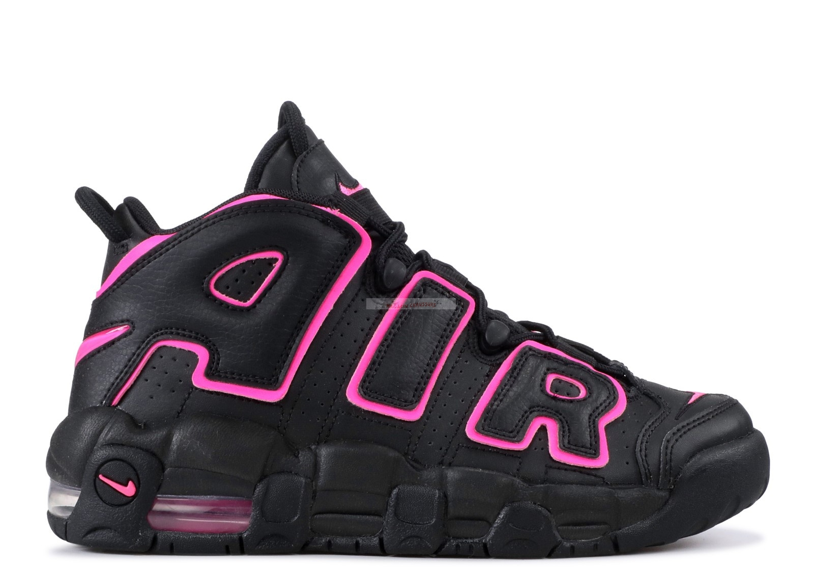 Nike Air More Uptempo (Gs) Noir Rose (415082-003) Chaussure de Basket