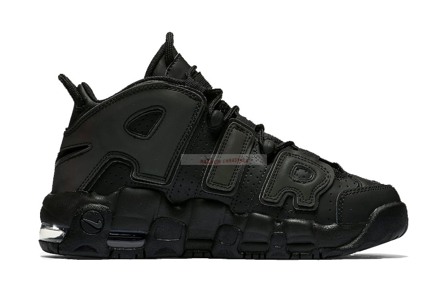 "Nike Air More Uptempo ""Reflective"" Noir Gris Chaussure de Basket"