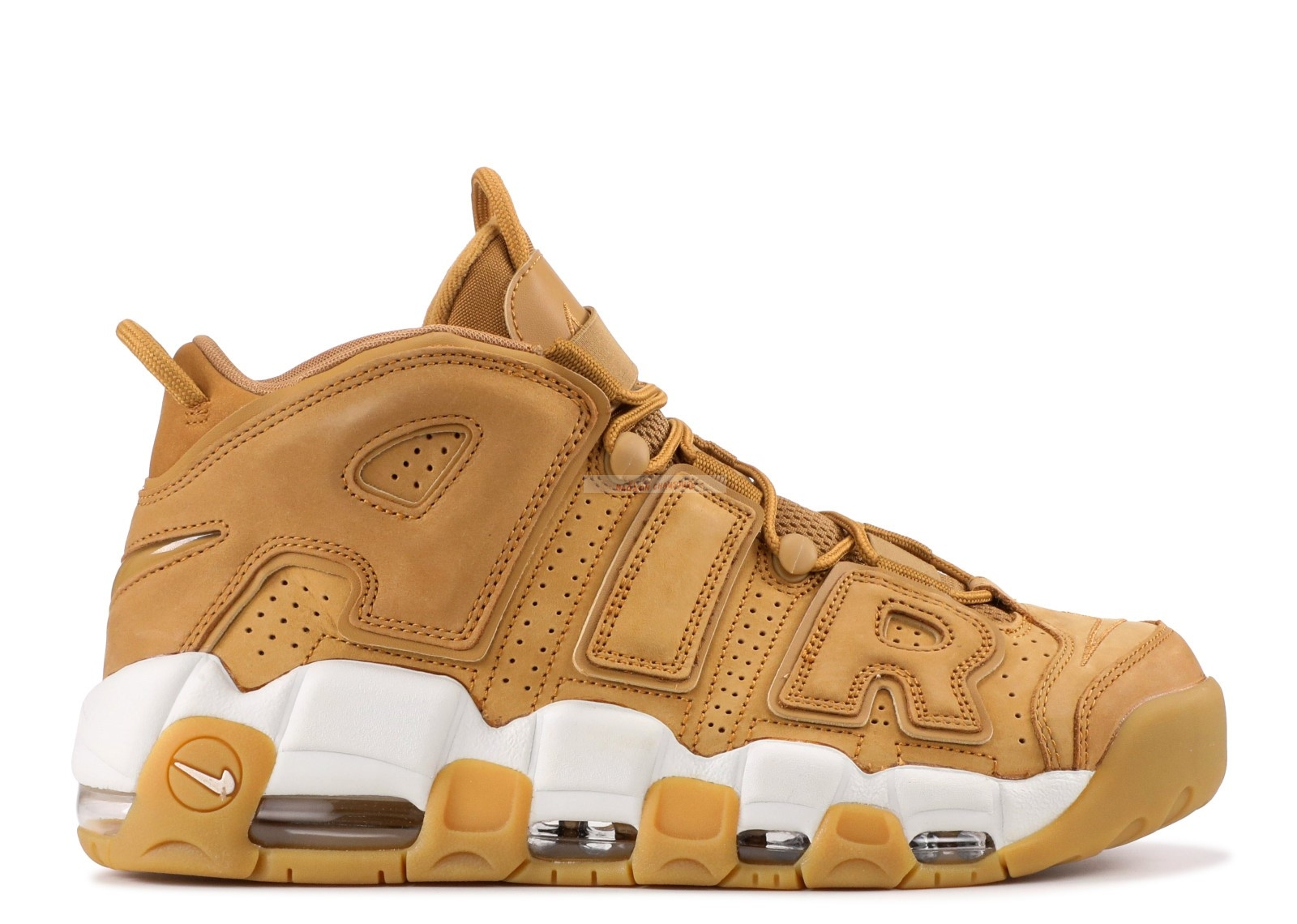 "Nike Air Uptempo ""Wheat"" Marron Blanc (aa4060-200) Chaussure de Basket"