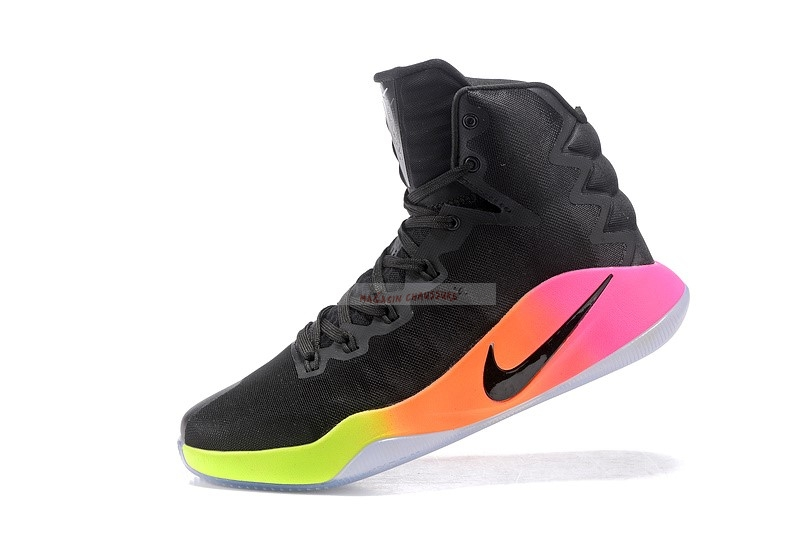 "Nike Hyperdunk 2016 High ""October Unlimited"" Noir Chaussure de Basket"