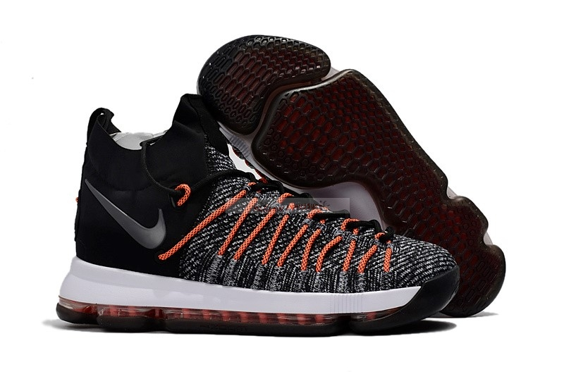 "Nike Kd Ix 9 Elite ""Flip The Switch"" Noir Orange Chaussure de Basket"