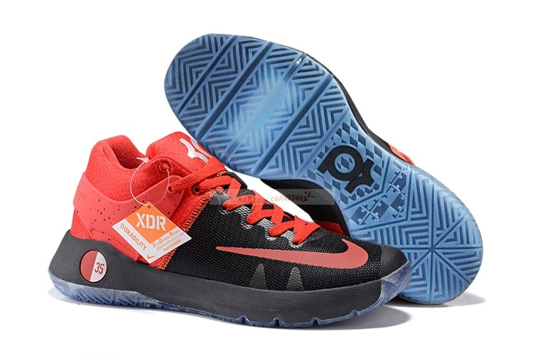 Nike Kd Trey 5 Iv Orange Noir Chaussure de Basket