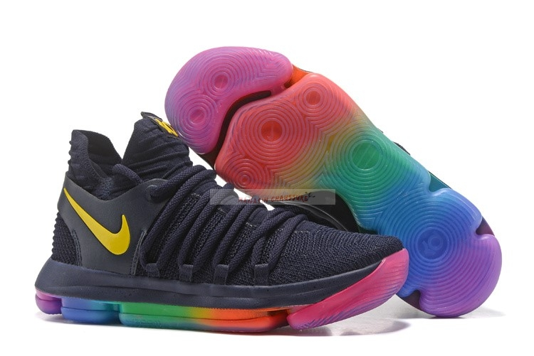 "Nike Kd X 10 ""Be True"" Noir Multicolore Chaussure de Basket"
