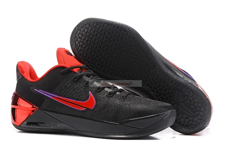 "Nike Kobe A.D. ""Flip The Switch"" Noir Rouge Chaussure de Basket"