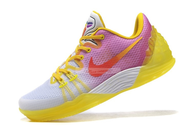 "Nike Kobe Venomenon 5 ""Dreams"" Jaune Rouge Chaussure de Basket"