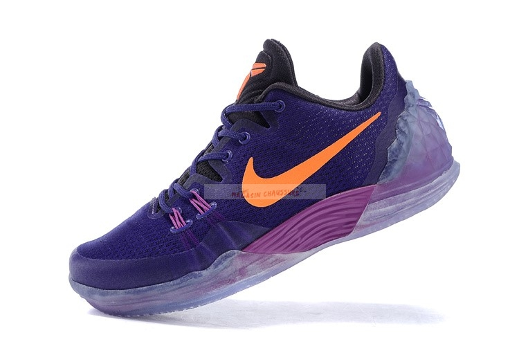 Nike Kobe Venomenon 5 Pourpre Orange Chaussure de Basket