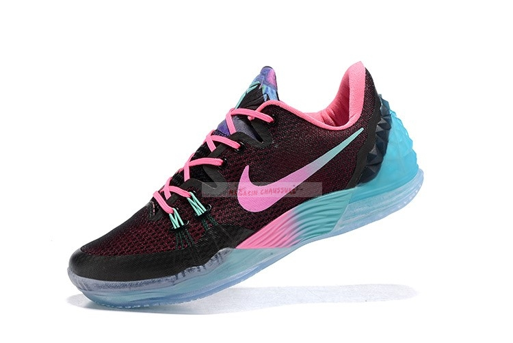 "Nike Kobe Venomenon 5 ""South Beach"" Noir Rose Chaussure de Basket"
