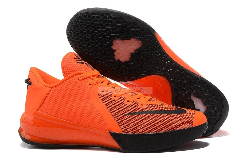 Nike Kobe Venomenon 6 Orange Noir Chaussure de Basket