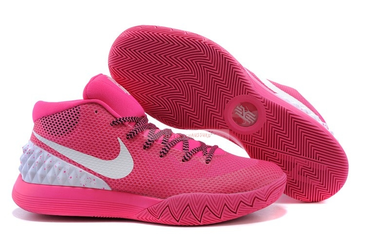 Nike Kyrie Irving I 1 Rose Blanc Chaussure de Basket