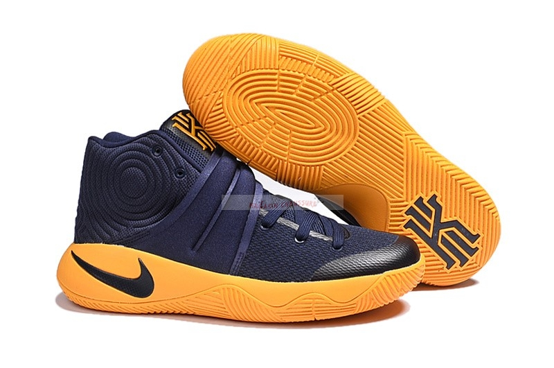 "Nike Kyrie Irving Ii 2 - Femme ""Cavs"" Marine Or Chaussure de Basket"