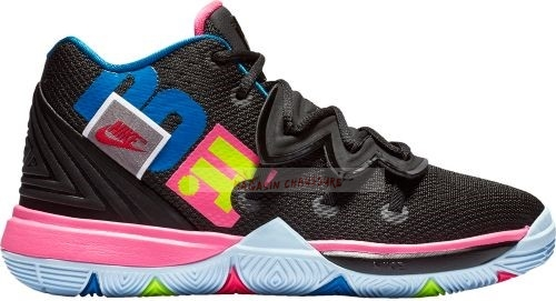 "Nike Kyrie Irving V 5 ""Just Do It"" (Gs) Noir Rose Bleu (aq2456-003) Chaussure de Basket"