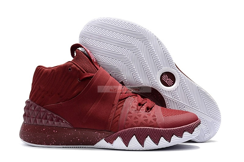 Nike Kyrie S1 Hybrid Rouge Blanc Chaussure de Basket