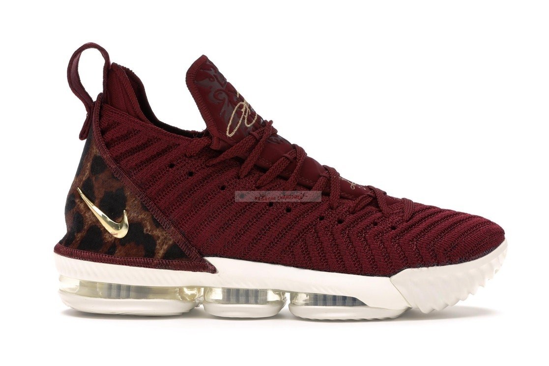 "Nike Lebron Xvi 16 ""King"" (Gs) Rouge (aq2465-601) Chaussure de Basket"